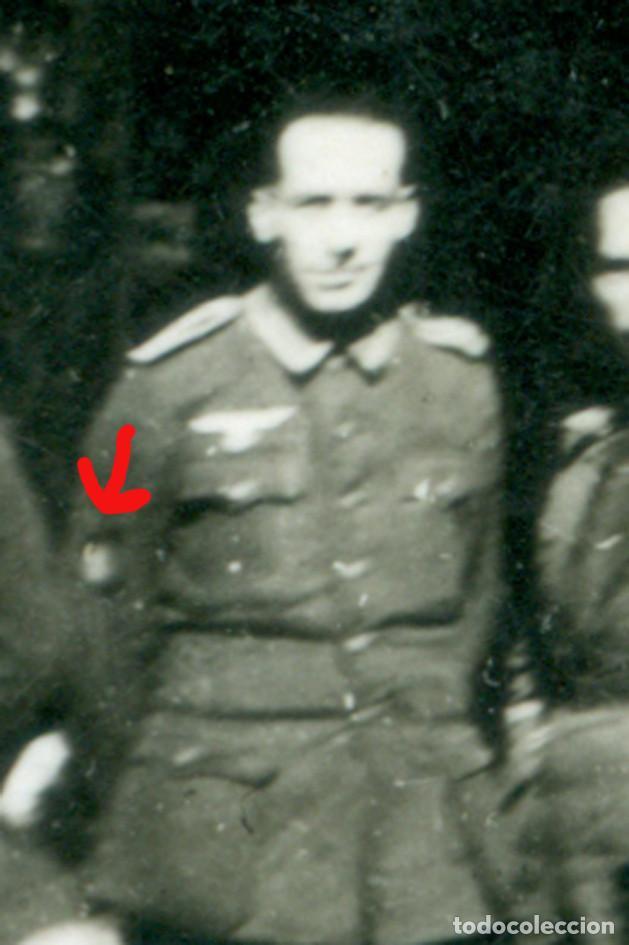 Militaria: Division azul. antigua foto 9 x 6 cm Leer bien la descripcion - Foto 3 - 206248057