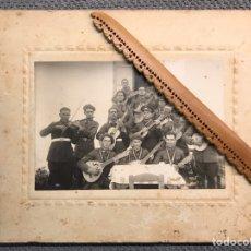 Militaria: CEUTA. FOTOGRAFÍA MILITAR, REGIMIENTO SANITARIO Y BANDA DE MUSICA. FOTOGRAFÍA, ALBALAT (H.1930?). Lote 206281388