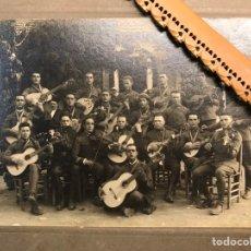 Militaria: CEUTA. FOTOGRAFÍA MILITAR, REGIMIENTO SANITARIO Y BANDA DE MUSICA. FOTOGRAFÍA, ALBALAT (H.1930?). Lote 206281505