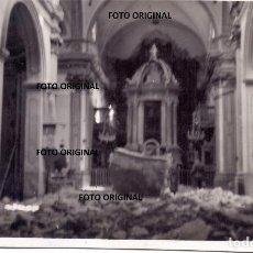 Militaria: OFICIAL LEGION CONDOR VIENDO DESTROZOS IGLESIA TERUEL O ALREDEDORES GUERRA CIVIL 1938. Lote 206306115
