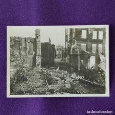 Militaria: FOTOGRAFIA ORIGINAL DE LA GUERRA CIVIL. BOMBARDEO DE GUERNICA. 26 DE ABRIL DE 1937.. Lote 206455217