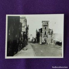 Militaria: FOTOGRAFIA ORIGINAL DE LA GUERRA CIVIL. BOMBARDEO DE GUERNICA. 26 DE ABRIL DE 1937.. Lote 206455240