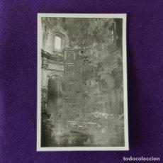 Militaria: FOTOGRAFIA ORIGINAL DE LA GUERRA CIVIL. BOMBARDEO DE DURANGO. 18 DE MAYO DE 1937.. Lote 216370385