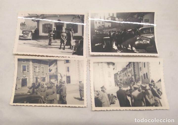 VISITA OFICIAL EJERCITO ALEMÁN NAZI FRONTERA ESPAÑA Y FRANCIA. MED. 9 X 6 CM (Militar - Fotografía Militar - II Guerra Mundial)