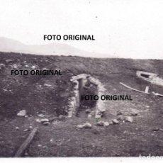 Militaria: REFUGIO / BUNKER AERODROMO VITORIA SOLDADO LEGION CONDOR FRENTE NORTE GUERRA CIVIL 1937. Lote 206459163
