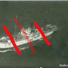Militaria: CRUZ ROJA BARCO LLAMADO CASTILLA. CADIZ? JULIO DE 1938? GUERRA CIVIL 10 X 15 CM. Lote 206503732