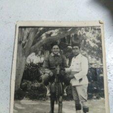Militaria: ANTIGUA FOTOGRAFIA GUERRA DE AFRICA SOLDADOS ESPAÑOLES. Lote 206763998