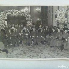 Militaria: ARTILLERIA: FOTO GENERALES ASENSIO, SALIQUET, MUÑOZ GRANDES, ETC, FESTIVIDAD DE SANTA BARBARA. 1943. Lote 206831525