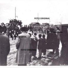 Militaria: PARADA MILITAR PUERTO GIJON 1937 FRENTE NORTE LEGION CONDOR GUERRA CIVIL. Lote 206904747
