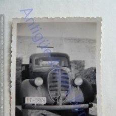 Militaria: FOTOGRAFÍA ANTIGUA. COCHE DEL EJERCITO ESPAÑOL. (8,5 X 6 CM). Lote 207069557