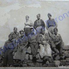 Militaria: FOTOGRAFÍA ANTIGUA. MILITARES. GUERRA CIVIL. 2/5/1937 (8,5 X 6 CM). Lote 207071462