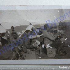 Militaria: FOTOGRAFÍA ANTIGUA. GUERRA DE ÁFRICA. AYYELÍA ENERO DE 1922. (6,5 X 4,5 CM). Lote 207075211