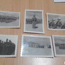 Militaria: 6 FOTOS DE SOLDADOS DE INGENIEROS 1942 PERIODO DE INSTRUCCIÓN-CALATAYUD. Lote 207110928