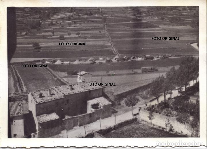 FUERZAS NACIONALES LEGION CONDOR IGLESUELA DEL CID (TERUEL) GUERRA CIVIL 1938 (Militar - Fotografía Militar - Guerra Civil Española)