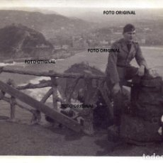 Militaria: OFICIAL LEGION CONDOR VISTAS SAN SEBASTIAN FRENTE NORTE 1937 GUERRA CIVIL. Lote 207723992