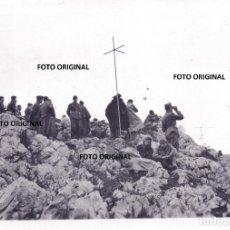Militaria: LEGION CONDOR OFICIALIDAD Y TRANSMISIONES MONTES CERCANOS OVIEDO FRENTE NORTE 1937 GUERRA CIVIL. Lote 207841325