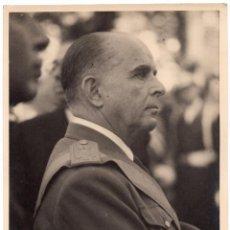 Militaria: BILAUREADO TENIENTE GENERAL VARELA. FOTO CALVACHE. 18X24. APROX.. Lote 207860620