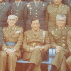 Militaria: FOTO UNICA DE LOS INTEGRANTES DEL GOLPE DE ESTADO DEDICADA POR UNO DE ELLOS. 23 F. MILANS. TEJERO.. Lote 207959111