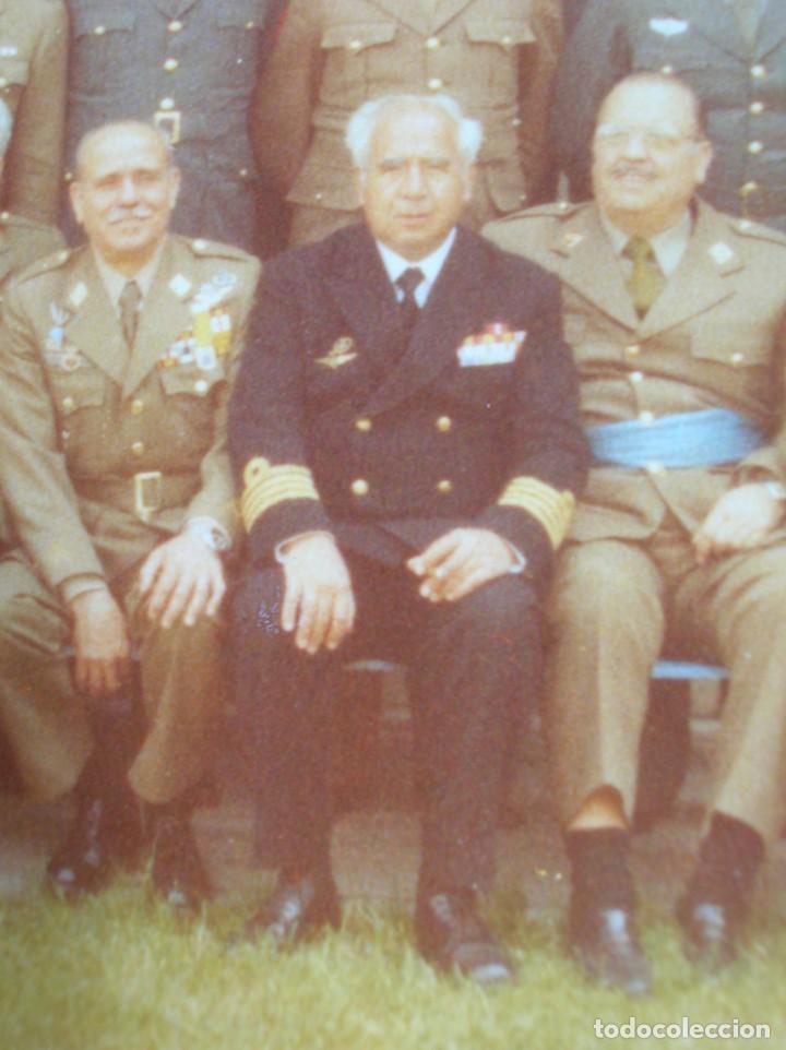 Militaria: FOTO UNICA DE LOS INTEGRANTES DEL GOLPE DE ESTADO DEDICADA POR UNO DE ELLOS. 23 F. MILANS. TEJERO. - Foto 5 - 207959111