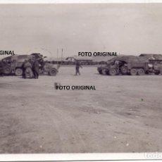 Militaria: AERODROMO CAUDE TERUEL TROPAS LEGION CONDOR OFENSIVA LEVANTE 1938 GUERRA CIVIL. Lote 208027137