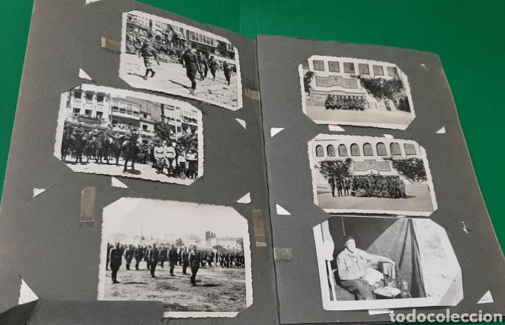 Militaria: ALBUM DE FOTOS CEUTA O MELILLA. GUERRA CIVIL ESPAÑOLA. - Foto 2 - 208043382