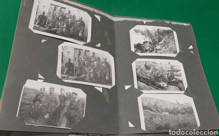 Militaria: ALBUM DE FOTOS CEUTA O MELILLA. GUERRA CIVIL ESPAÑOLA. - Foto 3 - 208043382