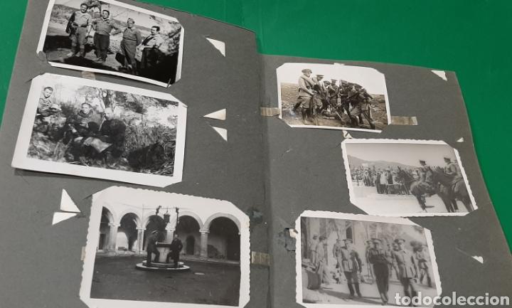 Militaria: ALBUM DE FOTOS CEUTA O MELILLA. GUERRA CIVIL ESPAÑOLA. - Foto 4 - 208043382