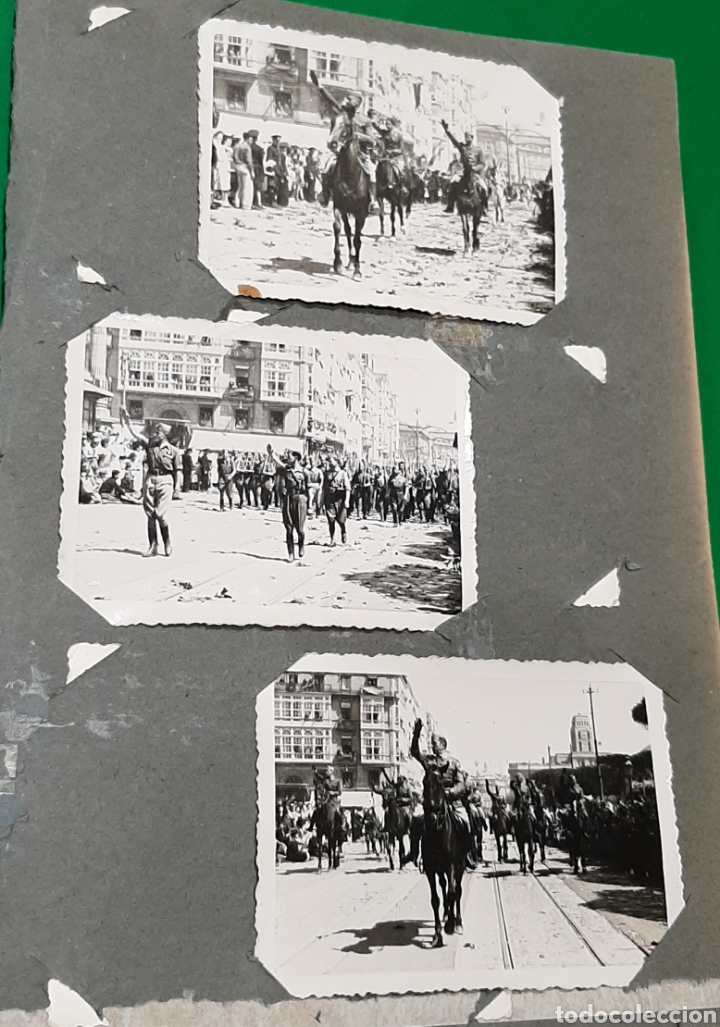 ALBUM DE FOTOS CEUTA O MELILLA. GUERRA CIVIL ESPAÑOLA. (Militar - Fotografía Militar - Guerra Civil Española)