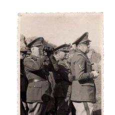 Militaria: TENIENTE GENERAL JOSE MOSCARDÓ Y FRANCISCO FRANCO. POSTAL FOTOGRÁFICA.. Lote 208069630