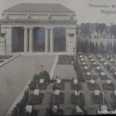Militaria: POSTCARD CEMENTERIO MILITAR ALEMAN BELGRADO - NAMUR. BELGICA. II REICH. AÑOS 1914-18. Lote 208753281