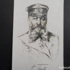 Militaria: POSTCARD ALMIRANTE TIRPITZ. II REICH. AÑOS 1914-18. Lote 208754982