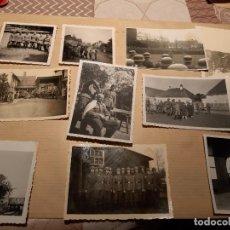 Militaria: LOTE 7. WW2. ALEMANIA. 10 FOTOGRAFÍAS ORIGINALES 1939 1945. Lote 208898362