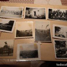 Militaria: LOTE 8. WW2. ALEMANIA. 10 FOTOGRAFÍAS ORIGINALES 1939 1945. Lote 208898411