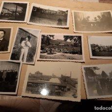 Militaria: LOTE 9. WW2. ALEMANIA. 10 FOTOGRAFÍAS ORIGINALES 1939 1945. Lote 208898543