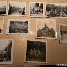 Militaria: LOTE 10. WW2. ALEMANIA. 10 FOTOGRAFÍAS ORIGINALES 1939 1945. Lote 208898571