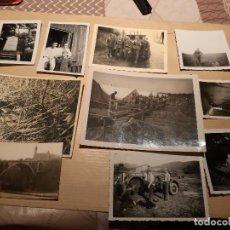 Militaria: LOTE 11. WW2. ALEMANIA. 10 FOTOGRAFÍAS ORIGINALES 1939 1945. Lote 208898610