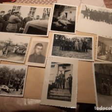 Militaria: LOTE 13. WW2. ALEMANIA. 10 FOTOGRAFÍAS ORIGINALES 1939 1945. Lote 208898678