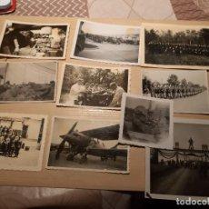 Militaria: LOTE 14. WW2. ALEMANIA. 10 FOTOGRAFÍAS ORIGINALES 1939 1945. Lote 208898737