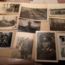 Militaria: LOTE 15. WW2. ALEMANIA. 10 FOTOGRAFÍAS ORIGINALES 1939 1945. Lote 208898800