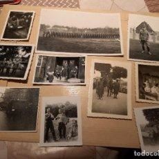 Militaria: LOTE 17. WW2. ALEMANIA. 10 FOTOGRAFÍAS ORIGINALES 1939 1945. Lote 208898888