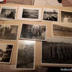 Militaria: LOTE 18. WW2. ALEMANIA. 10 FOTOGRAFÍAS ORIGINALES 1939 1945. Lote 208898945