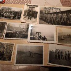 Militaria: LOTE 19. WW2. ALEMANIA. 10 FOTOGRAFÍAS ORIGINALES 1939 1945. Lote 208899000