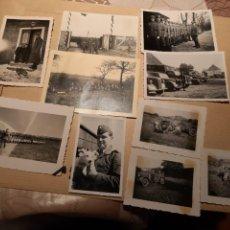 Militaria: LOTE 20. WW2. ALEMANIA. 10 FOTOGRAFÍAS ORIGINALES 1939 1945. Lote 208899040