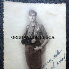 Militaria: (JX-200688)FOTOGRAFÍA DE ALFÉREZ PROVISIONAL,REQUETE,HERIDO,GUERRA CIVIL.MEDIDAS 8,50 CM X 13,50 CM.. Lote 209027090