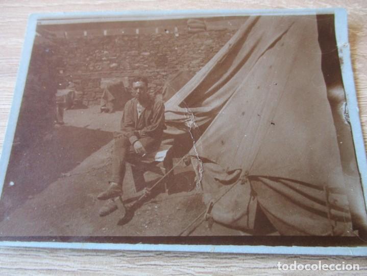 FOTOGRAFIA A MI BUEN AMIGO PEPE RECUERDO DE MIS ULTIMOS DIAS DE GUERRA PRISION DE M'FER AGOSTO XXIII (Militar - Fotografía Militar - I Guerra Mundial)