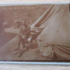 Militaria: FOTOGRAFIA A MI BUEN AMIGO PEPE RECUERDO DE MIS ULTIMOS DIAS DE GUERRA PRISION DE M'FER AGOSTO XXIII. Lote 209170231