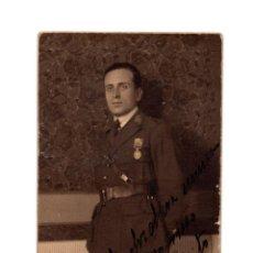 Militaria: MILITAR CON MEDALLA CAMPAÑA DE ÁFRICA. ALFONSO XIII. 1923. POSTAL FOTOGRÁFICA.. Lote 209604655