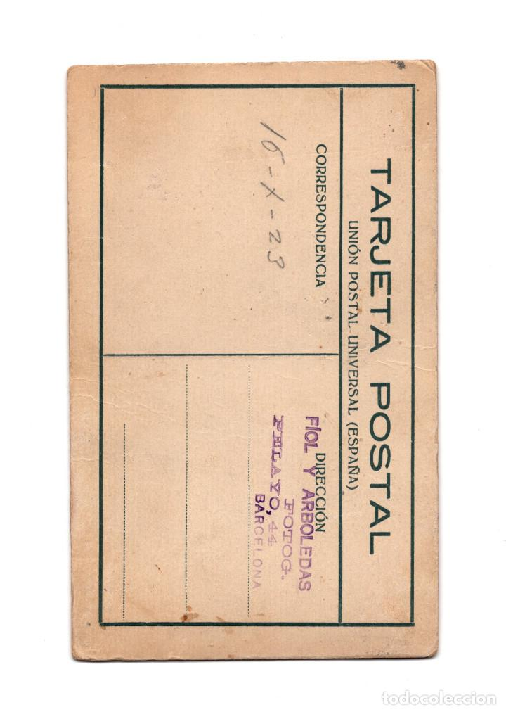 Militaria: MILITAR CON MEDALLA CAMPAÑA DE ÁFRICA. ALFONSO XIII. 1923. POSTAL FOTOGRÁFICA. - Foto 2 - 209604655