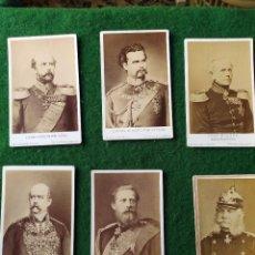 Militaria: LOTE DE 6 CARTAS DE GENERALES DE LA ALEMANIA IMPERIAL. Lote 209700191