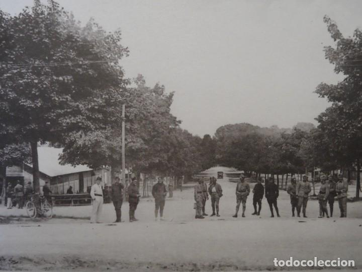 ALLE PRINCIPALE. LA CANTINE DU CAMP - CAMP DE MAILLY-ALLE. REPUBLICA FRANCESA. AÑOS 1914-18 (Militar - Fotografía Militar - I Guerra Mundial)